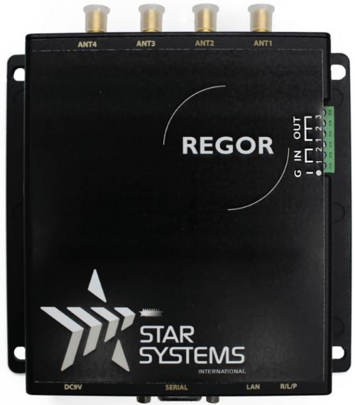 Regor - Multi-Port RFID Reader – C1G2 / ISO 18000 6C