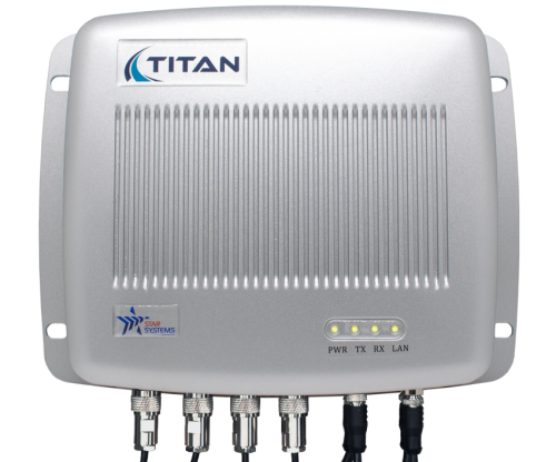 Titan - Multi-Protocol Tolling Reader with all cables